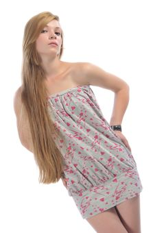Free Long-haired Beautiful Girl Stock Photography - 14727542