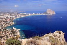 Free Calpe Bay Royalty Free Stock Photos - 14727978
