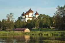 Free Ancient Russian Christmas Cathedral In Kargopol Stock Image - 14727981