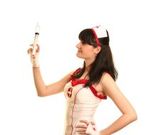 Free Young Nurse Royalty Free Stock Photography - 14728147