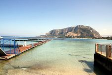 Free Mediterrean Beautiful Seascape. Mondello Stock Photography - 14729382
