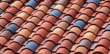 Free Spanish Tile Roof Stock Image - 14729841