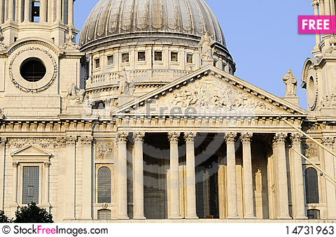 Free Columns Of Saint Paul S Cathedral Stock Photos - 14731963