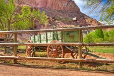 Free Old Historic Wagon Stock Photo - 14730770