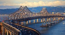 Free Bay Bridge Royalty Free Stock Photography - 14730907