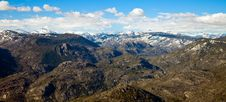 Free Sierra Nevada Mountains Stock Image - 14731231