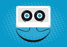 Free Cassette Smiling Royalty Free Stock Photo - 14732265