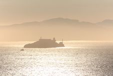 Alcatraz Island.San Francisco Stock Photography