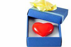 Free Heart Gift Stock Photos - 14733113