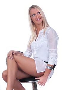 Free Happy Blond Girl Stock Photos - 14733153
