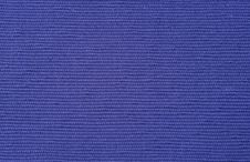 Blue Textile Background With Row Pattern Stock Photo