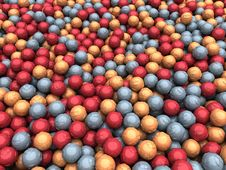 Radiation Balls Royalty Free Stock Photo