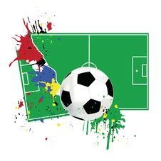 Free Picture Of A Soccer Stock Photography - 14734942