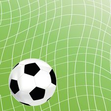 Free Picture Of A Soccer Royalty Free Stock Photos - 14734958