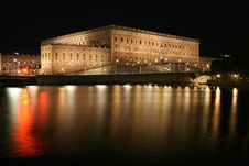 Royal Castle In Stockholm Stock Photos