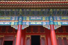 Free Red Chinese Pavillion Stock Images - 14735624