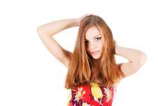 Free Beautiful Carefree Young Girl Stock Photo - 14736200