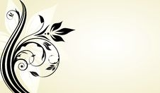 Free Floral Banner Royalty Free Stock Image - 14738146