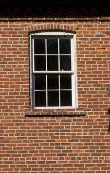 Free Window In Brick Wall Stock Image - 14738441