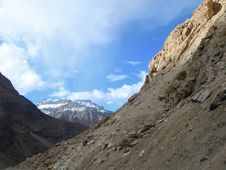 Spiti Valley In The Himalayan Mountains, India