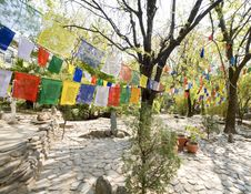 Free Prayer Flags Stock Photography - 14739612