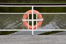 Free Life Buoy Royalty Free Stock Photos - 14739628