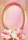 Free Vintage Styled Oval Frame Stock Photography - 14744702