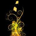 Free Grunge Foliage Vector Background Royalty Free Stock Image - 14745206