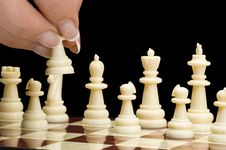 Free Chess Game Royalty Free Stock Photography - 14740567