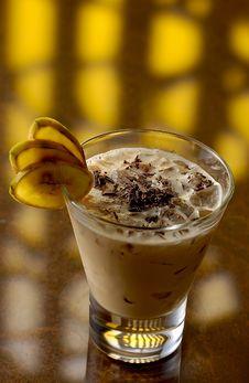 Free Colada With Chokolates Flakes Royalty Free Stock Image - 14741476