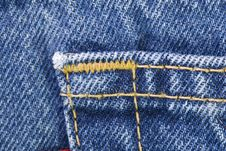 Free Ails Of Blue Jeans Royalty Free Stock Photography - 14741487
