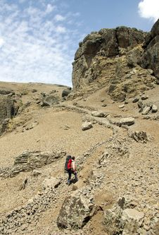 Free Ethiopian Mountains Stock Images - 14741794