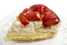 Free Delicious Strawberry Cheese Cake Royalty Free Stock Image - 14742006