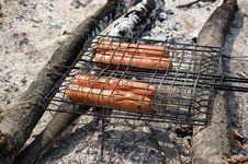 Free Fried Sausage Stock Image - 14742111