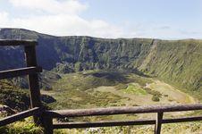 Free Inside Of Caldeira Volcano In Faial, Azores Stock Photo - 14742450
