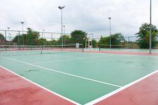 Free Stadium Tennis Stock Image - 14742501
