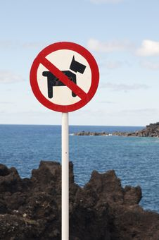 Free No Dogs Allowed Sign Royalty Free Stock Image - 14742506