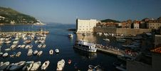 Free Dubrovnik Harbor Royalty Free Stock Images - 14742579