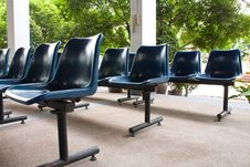 Free Blue Chairs Stock Photos - 14743183