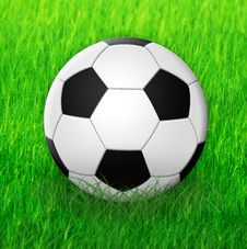 Free Football 2 Royalty Free Stock Photo - 14745135
