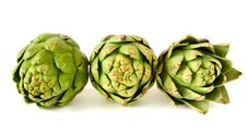 Free Artichokes Isolated On White Stock Photos - 14745283