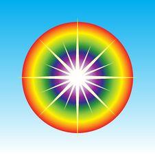 Free Abstract Sun Symbol Royalty Free Stock Photos - 14745308