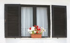 Free Window With Flowers Stock Photo - 14745370