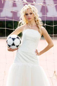 Free Bride Goalkeeper Stock Photos - 14745463