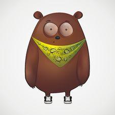 Free Cartoon Bear Royalty Free Stock Image - 14745756