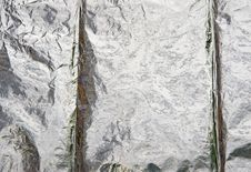 Free Aluminium Foil Reflecting Background. Royalty Free Stock Images - 14745869