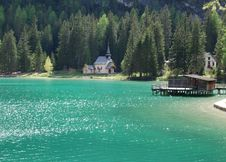 Free Braies Lake - Northern Italy Royalty Free Stock Photography - 14746177