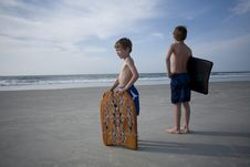 Free Young Boys At The Beach Stock Photos - 14747003