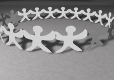 Free United People Chain Royalty Free Stock Photo - 14747355