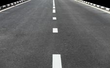 Free Empty Road Stock Photography - 14747742